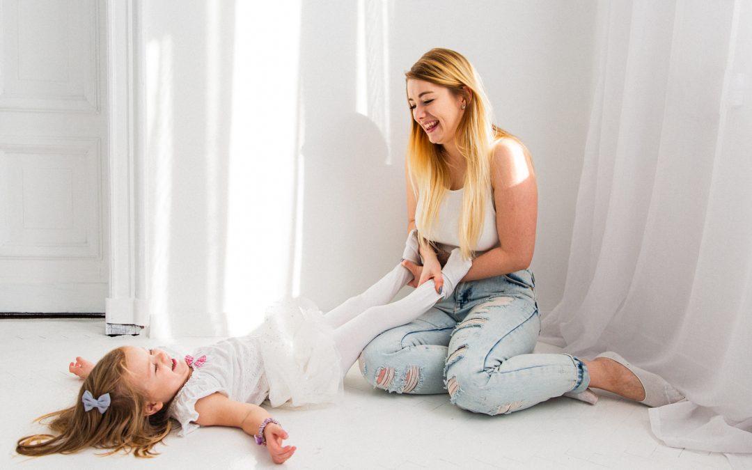 sesja rodzinna: Ania i Zuzia